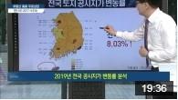 [네이버TV] 전국 토지 공시지가 변동률 관련 이미지
